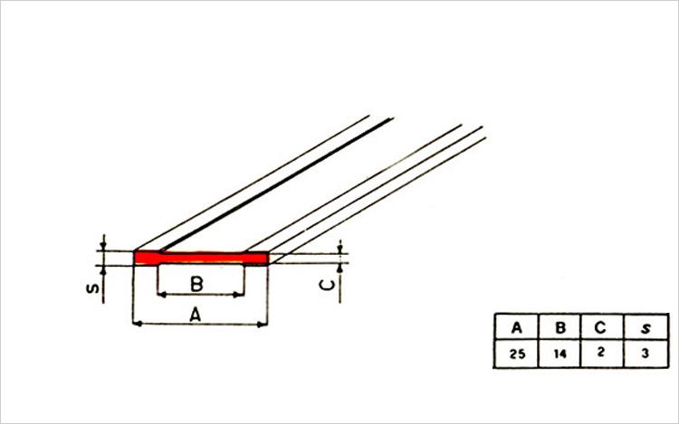 Distanziatore per pavimenti industriali al quarzo o ceramica